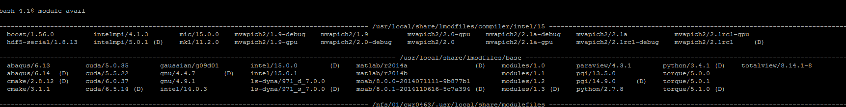 module_list